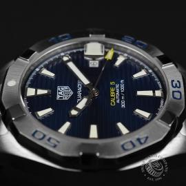 TA21065S Tag Heuer Aquaracer Calibre 5 Close8