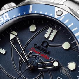 OM21529S Omega Seamaster James Bond 007 Limited Edition Close4 1
