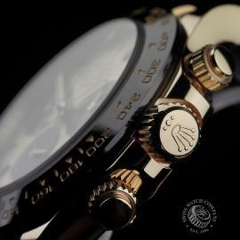 RO22580S Rolex Cosmograph Daytona 18ct Gold Cerachrom Unworn Close7