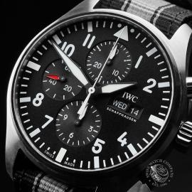 IW21663S IWC Pilots Chronograph Close2
