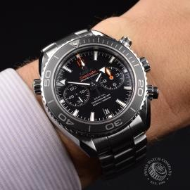OM21024S Omega Seamaster Planet Ocean 600m Co Axial Chrono Wrist