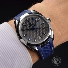 OM21203S Omega Seamaster Aqua Terra Co-Axial Master Chronometer Wrist