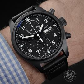 IW1955P IWC Pilots Chronograph Limited Edition Wrist