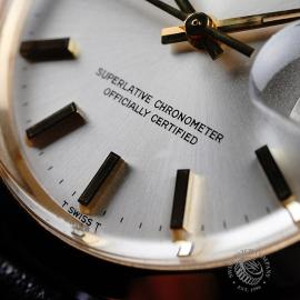 RO21812S Rolex Vintage Date 18ct Close4