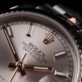RO22635S Rolex Ladies Datejust Close4