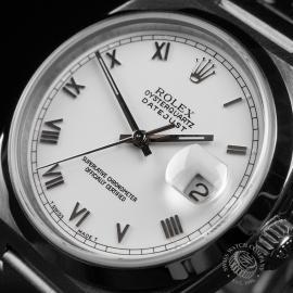 RO22261S Rolex Datejust Oysterquartz Close2