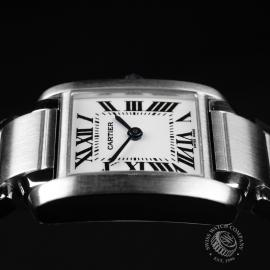 CA22133S Cartier Ladies Tank Francaise Small Model Close8 1
