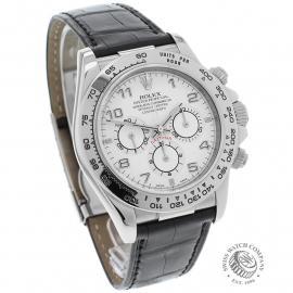 RO22609S Rolex Cosmograph Daytona 'White Gold' Dial
