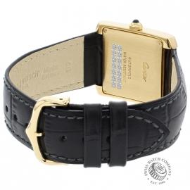 CA21253S Cartier Tank Francaise Mid Size18ct Back