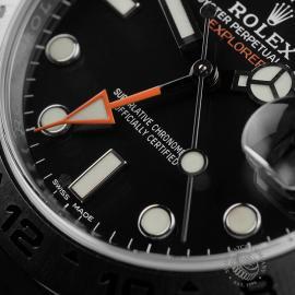 RO22408S Rolex Explorer II Orange Hand Close4