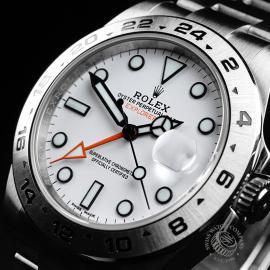 RO21745S Rolex Explorer II Orange Hand Close2