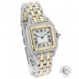 CA21923S Cartier Ladies Panthere 2-Row Dial
