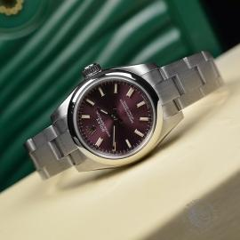 RO21167S Rolex Ladies Oyster Perpetual Close11