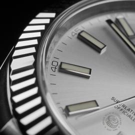 RO22357S Rolex Datejust 41 Unworn Close5