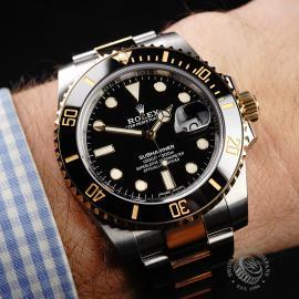 RO1941P Rolex Submariner Date Unworn Wrist