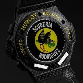 15469S Hublot Aero Big Bang Scuderia Rodriguez Limited Edition Close6