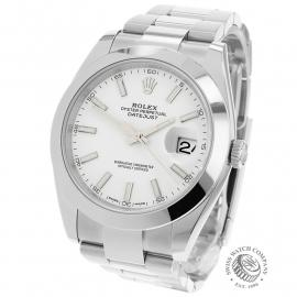 RO21916S Rolex Datejust 41 Back