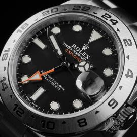 RO22408S Rolex Explorer II Orange Hand Close2