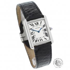 CA21602S Cartier Tank Solo Large Model Dial