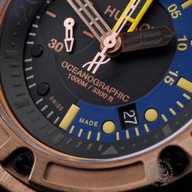 HU1885P Hublot King Power Oceanographic 1000 King Gold Close4