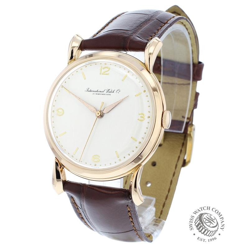 International Watch Company Vintage 18ct