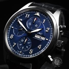 IW20694S IWC Pilots Spitfire Chrono Laureus Close2
