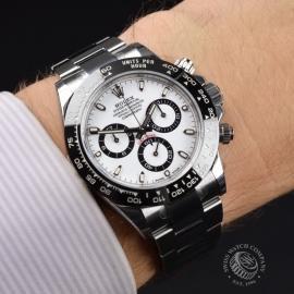 RO21354S Rolex Daytona - Cerachrom Bezel Model - Fully Stickered Wrist