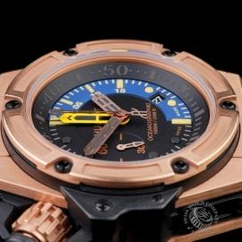 HU1885P Hublot King Power Oceanographic 1000 King Gold Close6