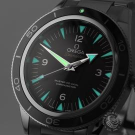 OM21712S Omega Seamaster 300 Master Co Axial Close1