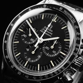 OM21889S Omega Vintage Speedmaster Moonwatch Close2