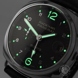 PA1892P Panerai Radiomir 10 Days GMT Automatic Oro Bianco Close1