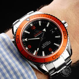 OM21969S Omega Seamaster Planet Ocean 600M Co-Axial Wrist