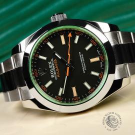 RO21986S Rolex Milgauss Unworn Close10