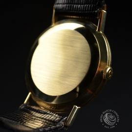 OM19632S Omega Vintage 9ct Gents Dress Watch Close9
