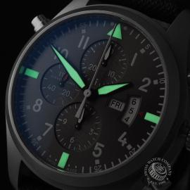 IW21828S IWC Pilots Double Chronograph 'Partouille Suisee'  Close1