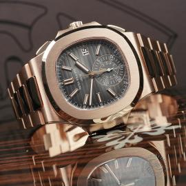 PK22578S Patek Philippe Nautilus Chronograph Rose Gold Close10