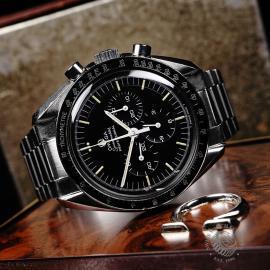 OM22108S Omega Vintage Speedmaster Moonwatch Close10