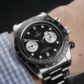 TU22343S Tudor Black Bay Chronograph Unworn Wrist