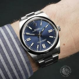RO22449S Rolex Oyster Perpetual 41 Unworn Wrist