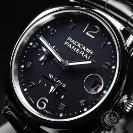 PA1892P Panerai Radiomir 10 Days GMT Automatic Oro Bianco Close2