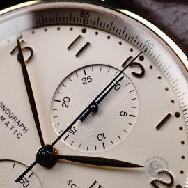 IW22062S IWC Portuguese 18ct Chronograph Close3