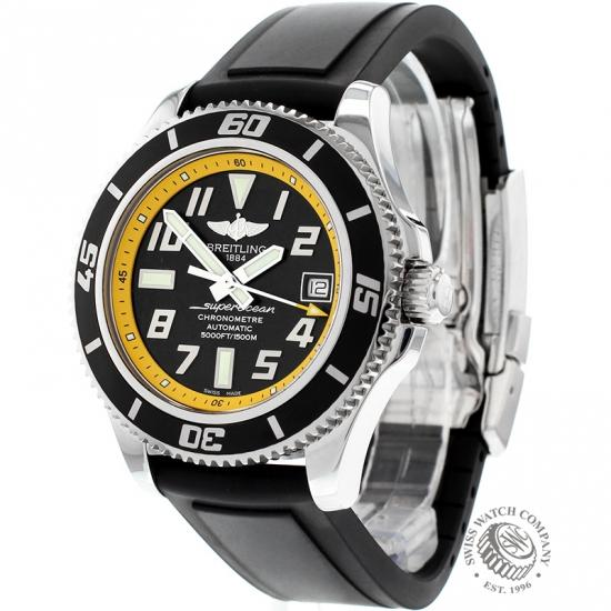 ritage superocean heritage h circa watch wrist chronographe ref en steel stainless in breitling watches