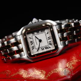 CA21923S Cartier Ladies Panthere 2-Row Close11