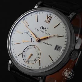IW22079S IWC Portofino Hand-Wound Eight Days Close1