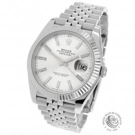RO22716S Rolex Datejust 41 Back 1