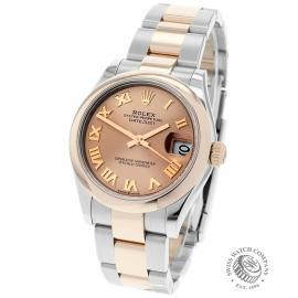 RO22560S Rolex Ladies Datejust Midsize Back