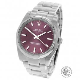 RO22071S Rolex Oyster Perpetual 34 Back