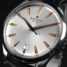 19857S Zenith Elite Captain Central Seconds Close2