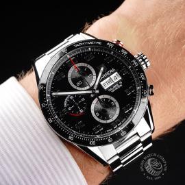 TA21839S Tag Heuer Carrera Calibre 16 Day Date Wrist