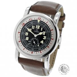 OM21673S Omega Museum Collection 1938 Pilots Watch BACK 1